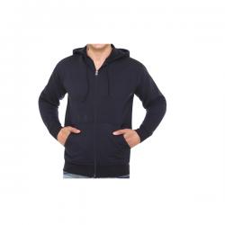 Unisex Hoodie - Navy Blue/Black/Grey Melange  CGP-2841