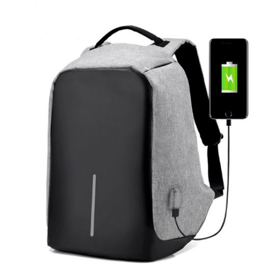 Anti Theft Backpack with USB Port