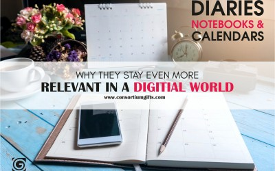 DIARIES, NOTEBOOKS AND CALENDARS. WHY THEY STAY EVEN MORE RELEVANT IN A DIGITAL WORLD