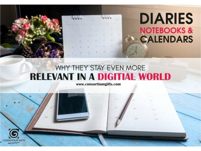 Dairies, Notebooks and Calendars, Why They Stay Even More Relevant in a Digital World
