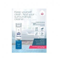Clean Bac ethanol spray