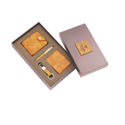 4 pcs Leatherette set in a Corrugated box - CGP-3115