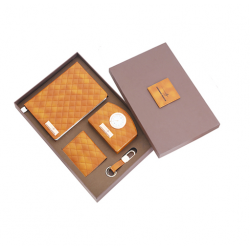 4 pcs Leatherette set in a Corrugated box - CGP-3116