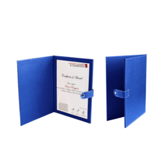 A4 Single Side Certificate Holder